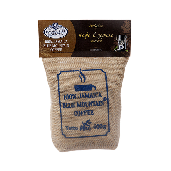 Кофе Jamaica Blue Mountain 500 гр