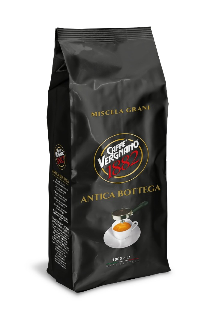 Кофе в зернах Vergnano Antica Bottega 100% Arabica 1 кг